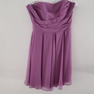Brides Maid Purple dress by David's bridal size 4